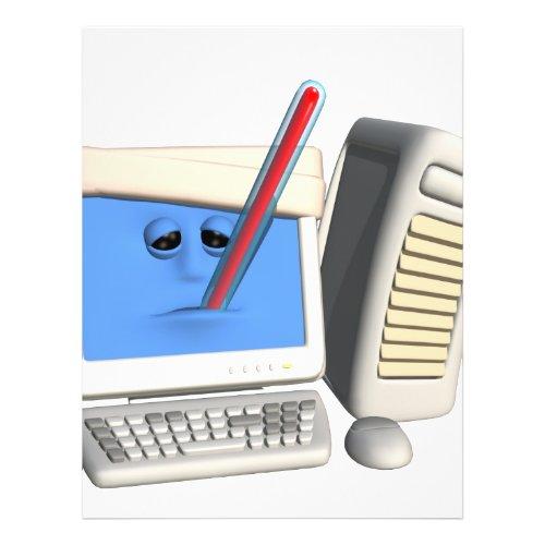 Smiley Computer Virus flyer