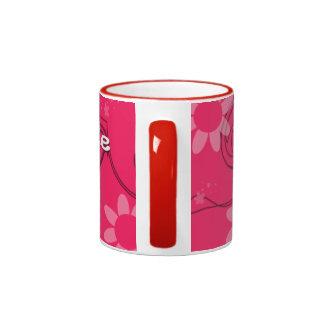 smiley cup ringer coffee mug