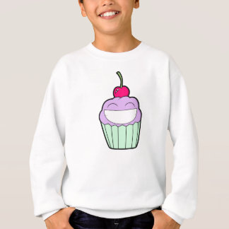 Smiley Cupcake Sweatshirt