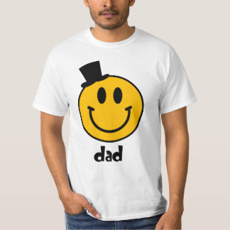 Smiley Dad Family Couple Men's T-Shirt