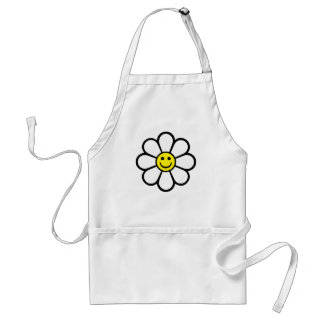 Smiley Daisy Adult Apron