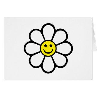 Smiley Daisy Greeting Card