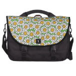 Smiley Daisy Flowers Pattern Commuter Bags