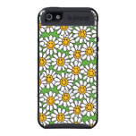 Smiley Daisy Flowers Pattern iPhone 5 Case