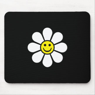 Smiley Daisy Mouse Pad