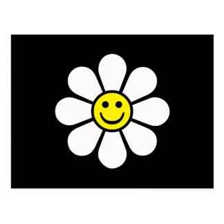 Smiley Daisy Postcard