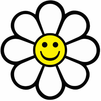 Smiley Daisy Statuette