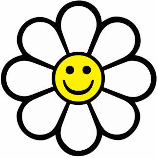 Smiley Daisy Statuette