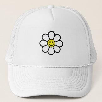 Smiley Daisy Trucker Hat
