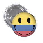 Smiley de Colombia Pin