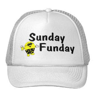 Smiley de domingo Funday Gorro De Camionero