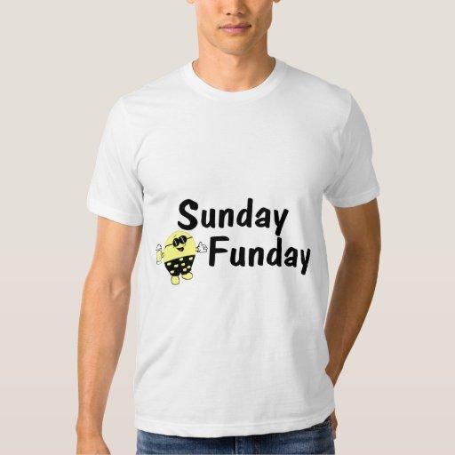 Smiley de domingo Funday Playeras