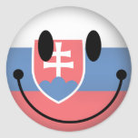 Smiley de Eslovaquia Etiquetas