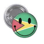 Smiley de Guyana Pin