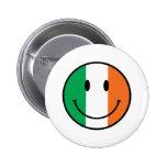 Smiley de Irlanda Pin