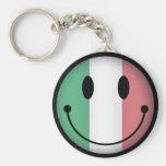 Smiley de Italia Llavero