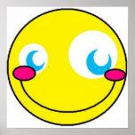 Smiley de Kawaii Poster