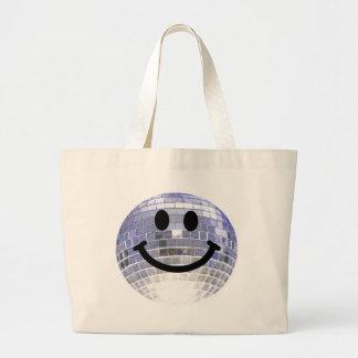 Smiley de la bola de discoteca bolsas