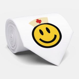 Smiley de la enfermera corbatas
