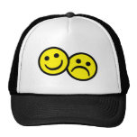 Smiley de la máscara del drama gorra
