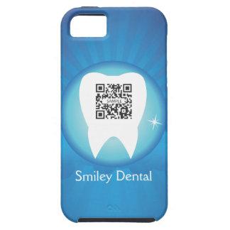 smiley de la plantilla del caso del iPhone 5 denta iPhone 5 Coberturas