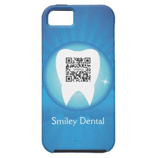 smiley de la plantilla del caso del iPhone 5 denta iPhone 5 Case-Mate Fundas