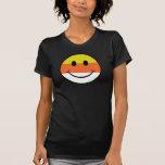 Smiley de las pastillas de caramelo tshirt
