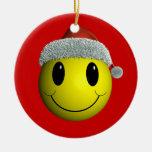 Smiley de Santa Adorno De Reyes