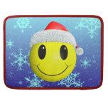 Smiley de Santa Fundas Macbook Pro