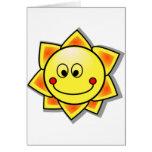 Smiley de Sun, Sun feliz Tarjetas