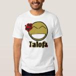 Smiley de Talofa Playeras