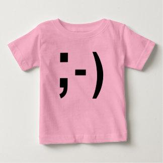 Smiley de Texting - la camiseta del niño