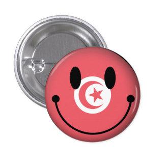 Smiley de Túnez Pin Redondo 2,5 Cm