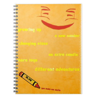 Smiley de Upsidy Libro De Apuntes Con Espiral