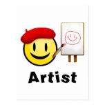 Smiley del artista postales