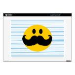 Smiley del bigote portátil 38,1cm skin