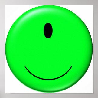 smiley del extranjero 3D Impresiones
