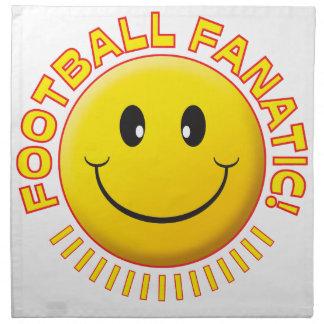 Smiley del fanático del fútbol