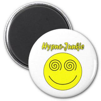 Smiley del Hypno-Drogadicto Imán Redondo 5 Cm