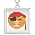 Smiley del pirata joyerias personalizadas