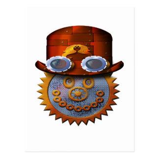 smiley del steampunk postales