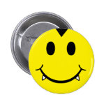 Smiley del vampiro pins