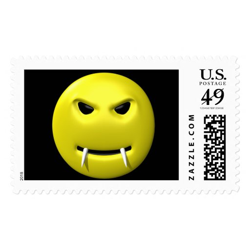 Smiley del vampiro sellos