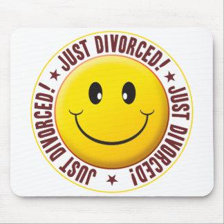 Smiley divorciado tapete de ratones