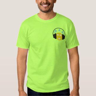 Smiley DJ Embroidered Tee Template