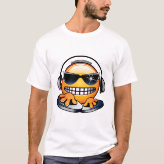 Smiley DJ shirt