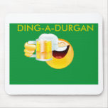 smiley drinking, DING-A-DURGAN Mouse Pads