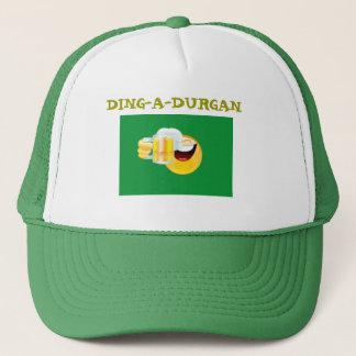 smiley drinking, DING-A-DURGAN Trucker Hat