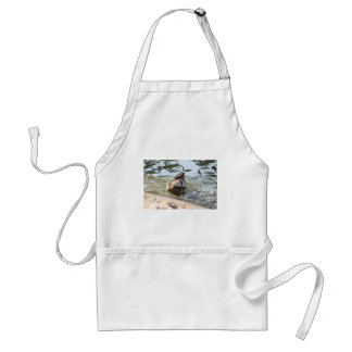Smiley Duck Adult Apron
