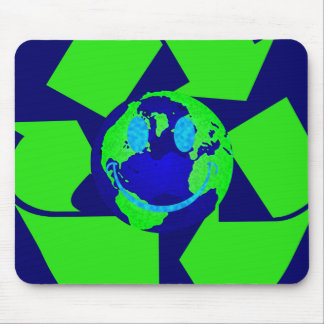 Smiley Earth Mouse Pad